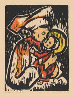 grafika, voľná, datovanie: 1957, rozmer: výška 38.0 cm x šírka 28.5 cm x výška 49.0 cm x šírka 42.0 cm