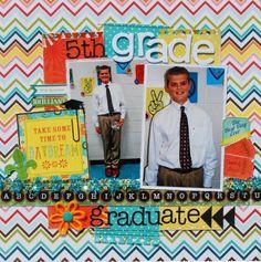 5th Grade Graduate - Scrapbook.com