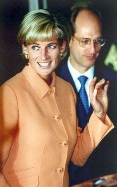 May 28, 1997: Princess Diana at Royal Marsden Hospital: