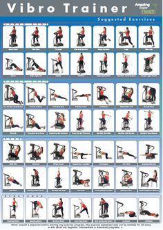 Resultado de imagem para vibration plate exercise
