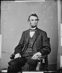President Abraham Lincoln by Matthew Brady
