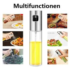 Kitchen Stainless Oil Sprayer Olive Mister Spray Pump Fine Bottle Cooking Tools for sale online Spray Bottle, Voss Bottle, Olive Oil Sprayer, Tools For Sale, Cooking Tools, Food Grade, Cool Kitchens, Bbq, Kitchen Tools