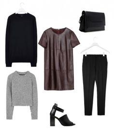 Style - Minimal + Classic: black, grey & brown