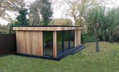 Garden room with mini garage-3