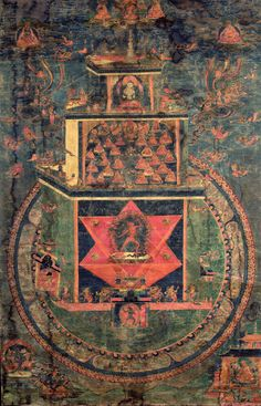"Vajrayogini Mandala  According to scholar Miranda Shaw, Vajrayoginī is ""inarguably the supreme deity of the Tantric pantheon. No male Buddha, including her divine consort, Heruka-Cakrasaṃvara, approaches her in metaphysical or practical import.""["