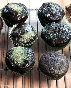 Fran Costigan's Chocolate Beer Cupcakes for Saint Patrick's Day