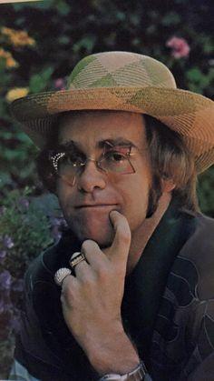 Elton John - Rock of the Westies, 1975 Elton John Sunglasses, Elton John Costume, Tony Danza, Captain Fantastic, Taron Egerton, John 3, Rock Legends, Concert Posters, Celebs