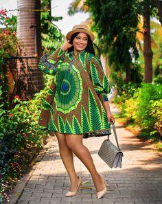 Short African Dresses, Latest African Fashion Dresses, African Print Fashion, Short Dresses, African Prints, Africa Fashion, African Fabric, Fashion Prints, Trendy Ankara Styles