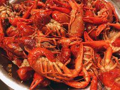夏天中国人的最爱龙虾#food#yummy#yum#summer#lobster Bibimbap Recipe, Shrimp, Meat, Summer, Recipes, Food, Summer Time, Essen, Eten