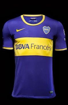 0902054e22dde BOCA JUNIORS HOME SHIRT 2013-14 New Football Shirts
