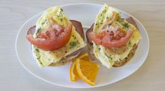 A super yummy sandwich for those morning cravings! Epicure Recipes, Pork Recipes, Sunday Recipes, Brunch Recipes, Clean Eating Breakfast, Breakfast Ideas, Easy Brunch Menu, Gluten Free Menu, Cooking Dishes
