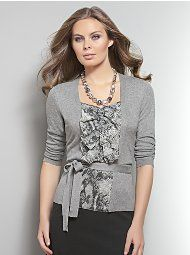 NY&Co two-in-one sweater $49.95