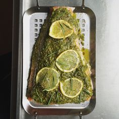 barbequed salmon