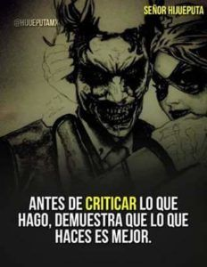 Motivational Quotes For Life, Me Quotes, Joker Frases, Best Joker Quotes, Joker And Harley, Harley Quinn, Cute Phrases, Quotes En Espanol, Spanish Quotes