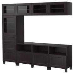 BESTÅ Storage combination w doors/drawers - IKEA Yet another option