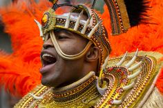 LONDON, UNITED KINGDOM - AUGUST 27: Notting Hill Carnival livens up west London with the beats of steel drums and boisterous jubilation. It is Europe's largest street festival, attended annually by more than 1,000,000 people.