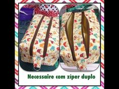 Necessaire box dupla - YouTube