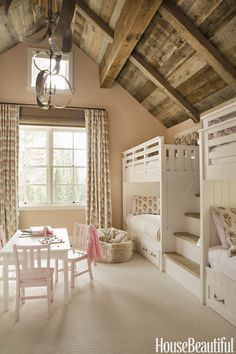 White Bunk Beds - HouseBeautiful.com