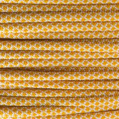 Honeycomb Paracord Type III (Golden Rod, White) This is how you receive your Paracord: Fill in the desired number of meters, and we will deliver the Paracord in a bundle or on a custom length spool. Colored Rope, Ral Colours, 550 Paracord, Pantone Color, Honeycomb, Type, Honeycombs, Honeycomb Pattern