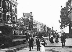 Brixton Road, looking north, 1910