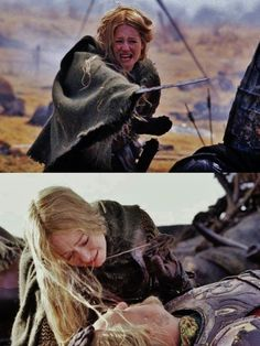 Eowyn is most definatley my favorite character in LOTR