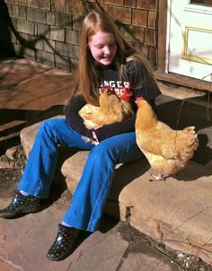 Taming chickens from the start