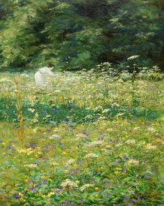 Karel Langer - Summer Mood, oil on cardboard