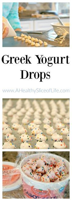 Frozen Greek yogurt drops! I made them Thursday morning on my Thinking Outside the Lunchbox segment on FOX News Rising. These kid-friendly Frozen Greek Yogurt drops are great for kids of all ages, fro