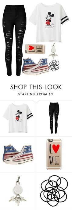 """Untitled #957"" by anyierojas ❤ liked on Polyvore featuring Uniqlo, Converse, Casetify, Alexander Wang, Monki, women's clothing, women, female, woman and misses"