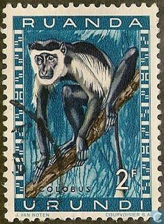1959 Ruanda-Urundi - Protected animals