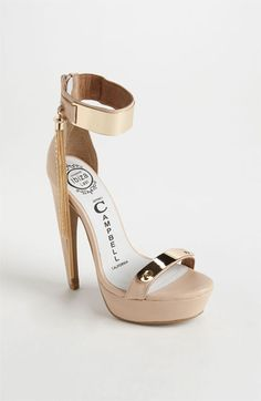 Jeffrey Campbell 'Tasha' Sandal available at #Nordstrom