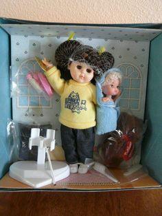 Vogue Ginny Doll 1988 - Ginny Babysitting, Shirley's Dollhouse