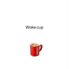 Creative Print Ads, 365 Day Copywriting Challenge - Nescafe