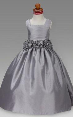 A-line Square Floor-length Taffeta Flower Girl Dress  Item ID #00240937  Lightinthebox.com