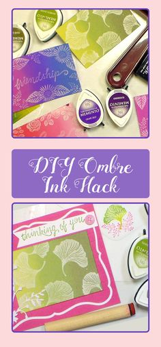 what a great card idea for my unmounted rubber stamps! the frugal crafter is so clever. love that i can use my dye inks for this awesome technique.