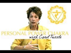 How To Open Your Solar Plexus Chakra (Manipura) | Chakra Healing With Carol Tuttle