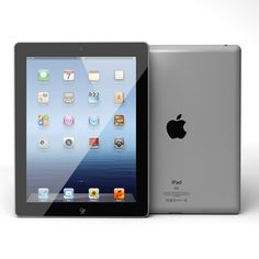 Apple iPad 3 Wi-Fi has iOS 5.1 and upgradable to iOS 6.1.4.