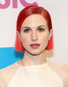 Hayley Williams Photos: Billboard Women in Music Luncheon.  Love the lips