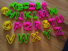Stylish Home Bpa-free 26 Pieces Plastic Alphabet Cookie and Biscuit cookie-cutter Set (a great gift for Mothers day) *** For more information, visit : Baking Accessories