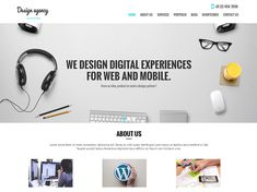 Do you have your own digital agency? And you need a website for your agency? Then you should begin creating and developing your site using the most ve...