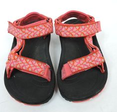 89fe9d578 Teva Hurricane Girl Child Pink Sport Water Outdoor Sandal Size 11  Teva   Sandals. Bridget G. children Shoes