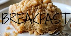 Recipe Index - Breakfast