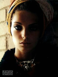 Vogue August 2003 Daria Werbowy by Steven Meisel 09