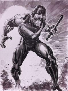 Nightwing by Freddie E Williams II