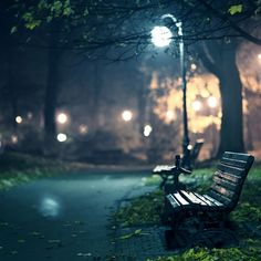 Lonely Beach In The Park Street Light #iPad #Air #wallpaper