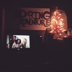 My Christmas tree is up and Friends is on and all is good. #thanksgiving