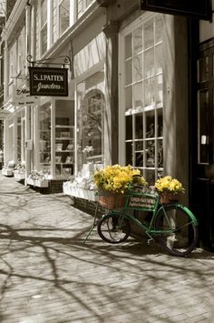 "this is available for purchase ""Bicycle with Flowers - Nantucket"""
