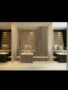 Private pedi 'rooms'