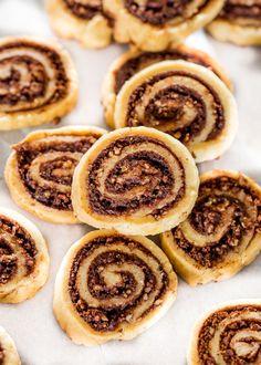 Really nice recipes. Every hour. — cinnamon chocolate pecan pie cookies  Really nice...