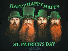 Duck Dynasty HAPPY HAPPY HAPPY St. Patricks Day Shirt Duck Commander Men T-Shirt